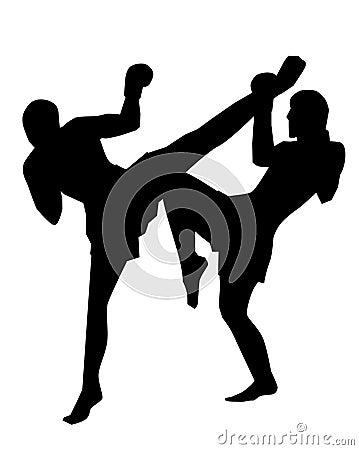 Free Thai Boxing Royalty Free Stock Photos - 2045448