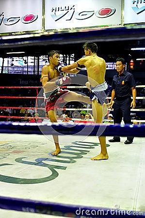 Thai Boxing Editorial Stock Photo