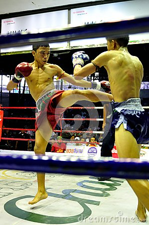 Thai Boxing Editorial Photography