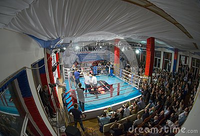 Thai boxing fight club Osminog Editorial Image