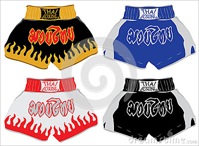 Thai boxing shorts , Muay Thai