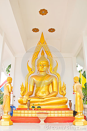 Thai Buddha in Thailand