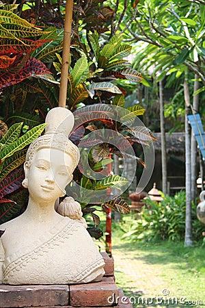 Thai buddhist statue