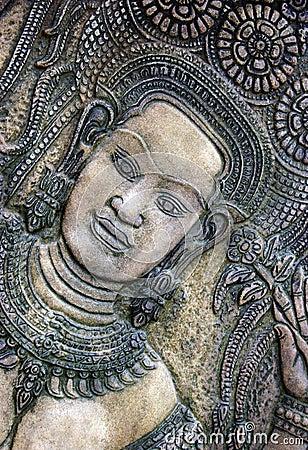 Thai carving
