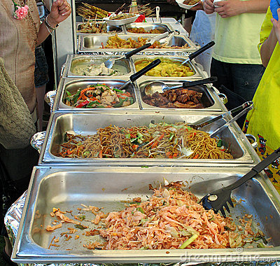 Free Thai Catering Stock Images - 4289224