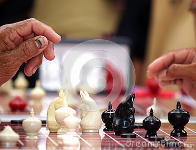 Thai chess competition
