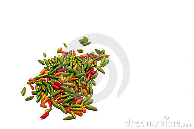 Thai chili spice Stock Photo