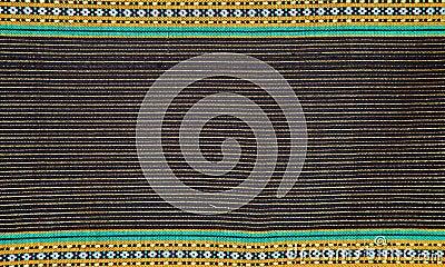 Thai cloth stripes
