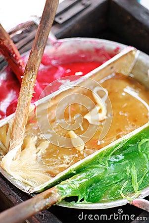 Thai Colorful Sweetmeat