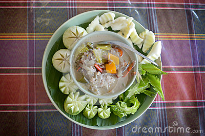 Thai curd dip