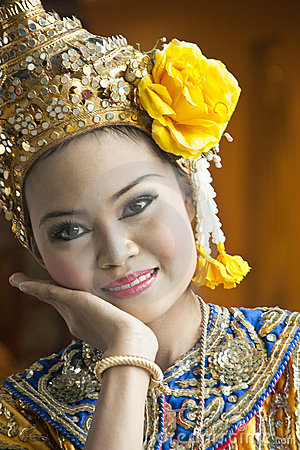 Free Thai Cultural Show Stock Photography - 21129142