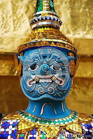 Free Thai Demon Royalty Free Stock Photo - 12469825