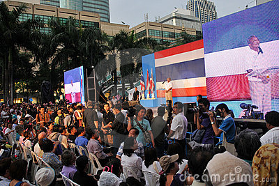 Thai Deputy Prime Minister Suthep Thaugsuban Editorial Stock Photo