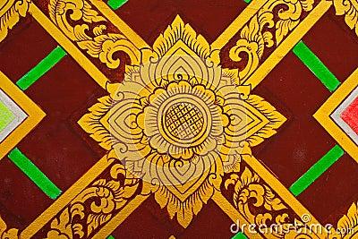Thai design painting