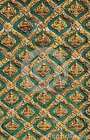 Thai design painting background