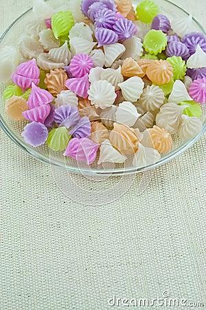 Thai dessert : Crispy Sticky Dumpling or A-Lua
