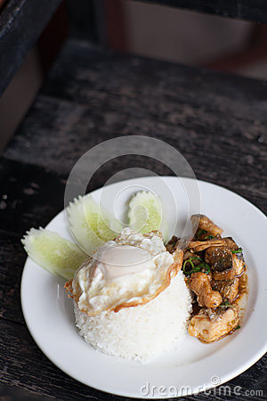 Thai famous dish
