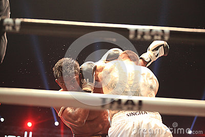 THAI FIGHT 2012, Final Round Editorial Stock Photo