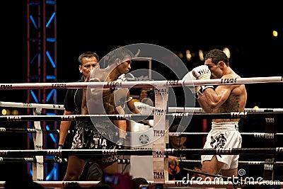 Thai Fight Editorial Photo