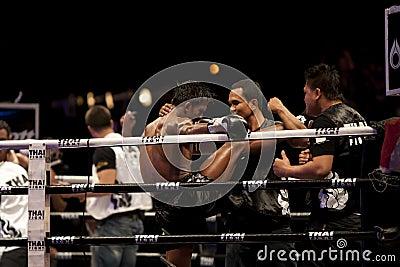 Thai Fight Editorial Image