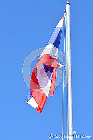 Thai flag of Thailand