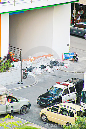Thai flooding Editorial Image