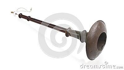 Thai flute windwood music instrument