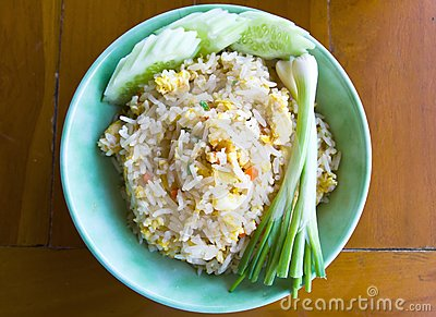 Thai food fried rice