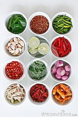 Free Thai Food Ingredients Royalty Free Stock Images - 18773939