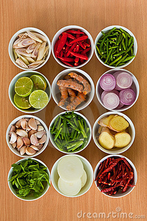 Free Thai Food Ingredients Stock Photography - 19758642