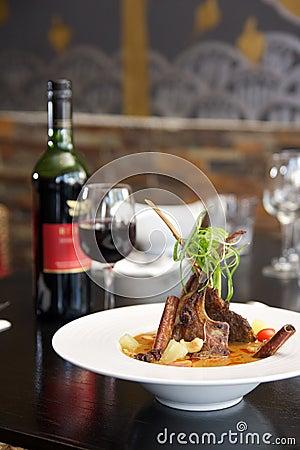 Free Thai Food, Lamb Massaman Curry. Stock Photography - 28859652