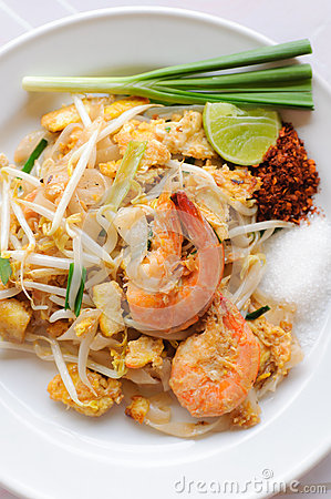 Free Thai Food Pad Thai Stock Photography - 26428242