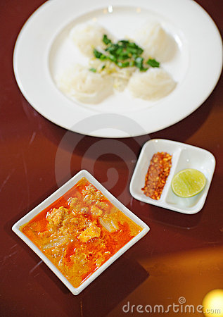Thai Food Red Curry