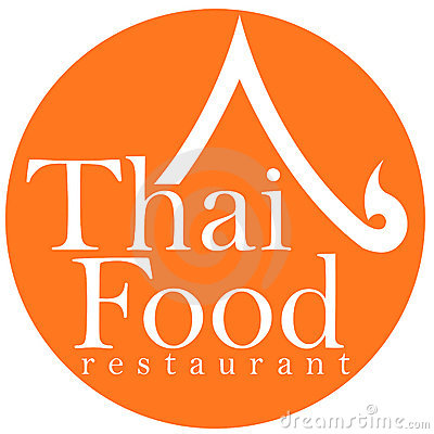 Free Thai Food Restaurant Logo Design Royalty Free Stock Photos - 7559128