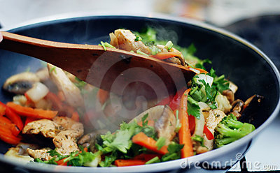 Thai food - Stir fry