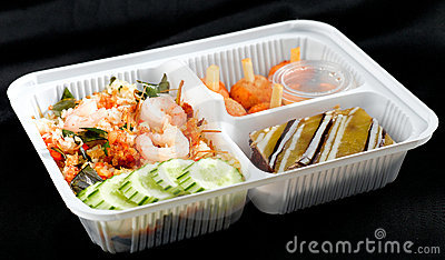 Thai food style lunchbox