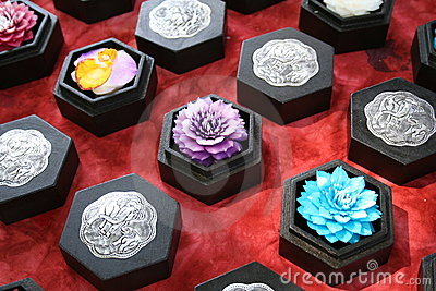 Thai Handicraft Wax flower