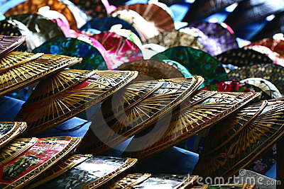 Thai hats at markets