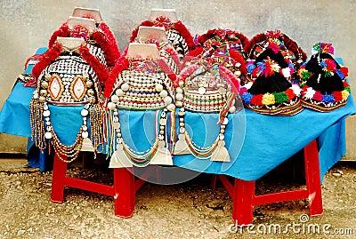 Thai Hilltribe Hats