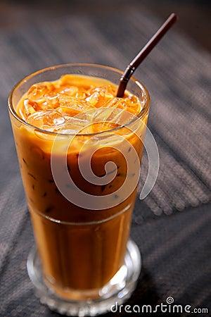 Free Thai Ice Tea Stock Image - 21773081