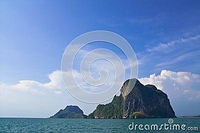 Thai island, Trang province, Thailand.