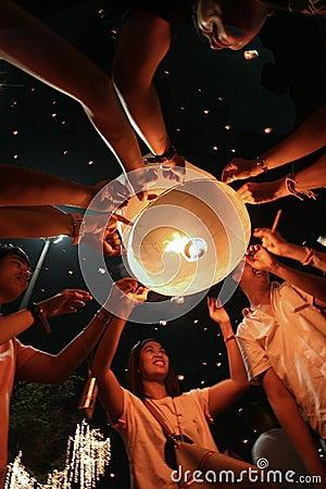 Thai King Birthday Celebrations 2010 Editorial Image