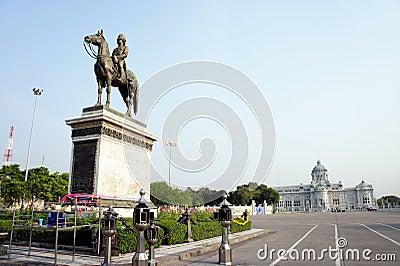 Thai King Rama V Monument