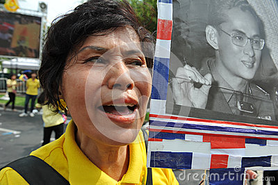 Thai King s 85th Birthday Editorial Stock Photo