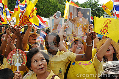 Thai King s 85th Birthday Editorial Photo
