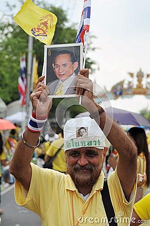 Thai King s 85th Birthday Editorial Photography