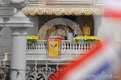 Thai King s 85th Birthday Editorial Image