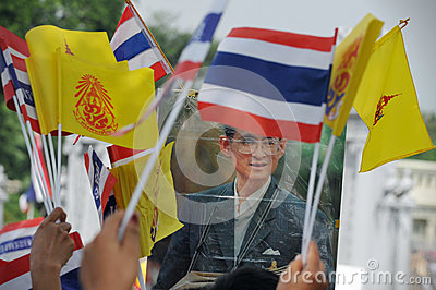Thai King s 85th Birthday Editorial Stock Image