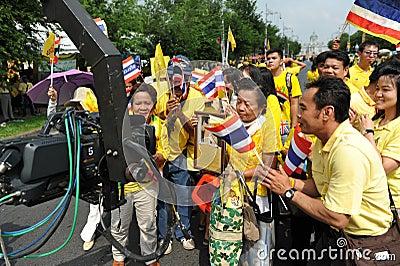 Thai Kings 85th Birthday Editorial Image