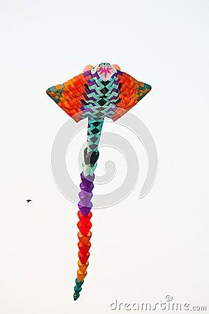 Thai kite flying